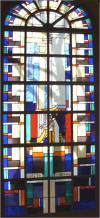 Koning David speelt op de harp om het boze in de mens te genezen. David komt ook voor als voorvader van Jezus en verwijst dus ook naar Christus (Verlosser)